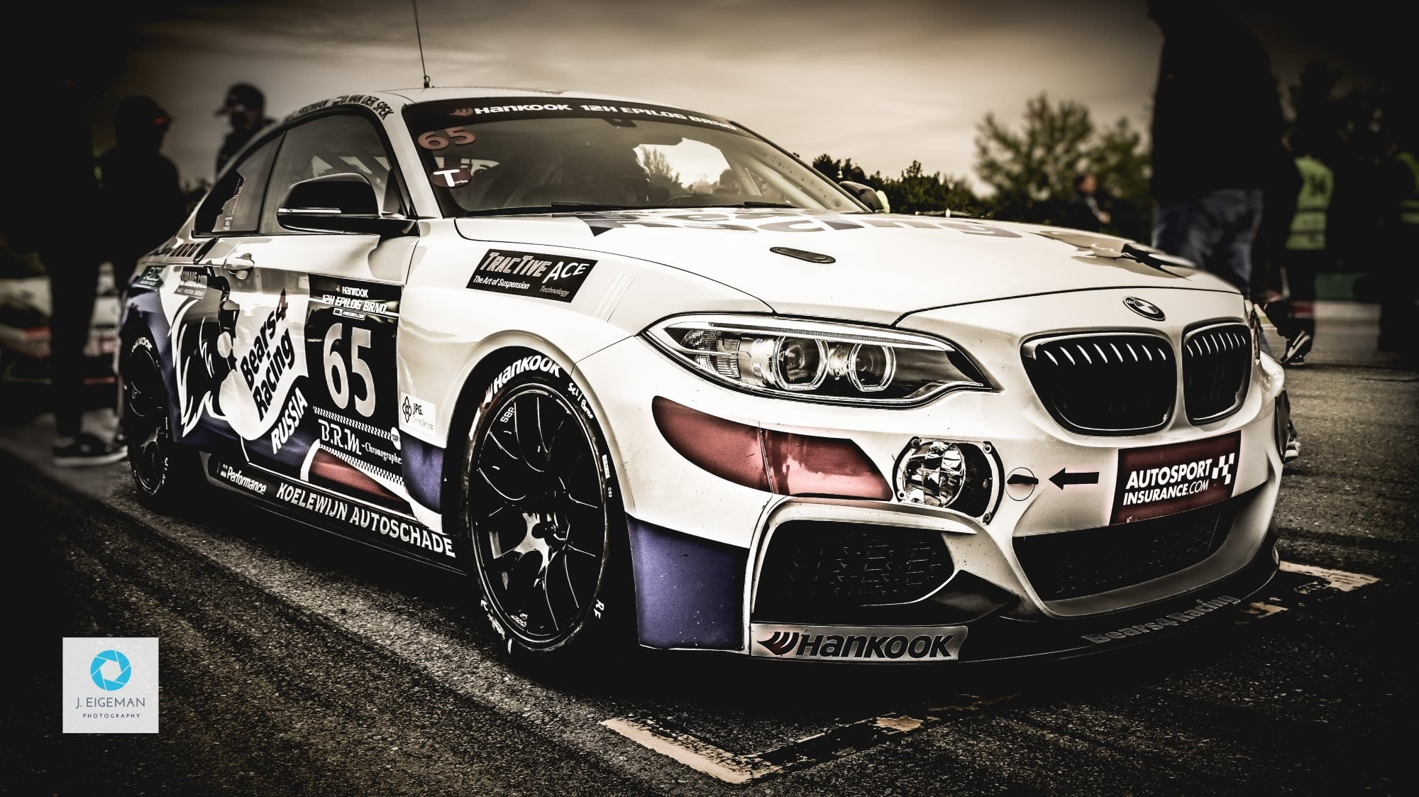 BMW M235i Brno - Technieko - Bears 4 Racing - by Jeoffrey Eigeman