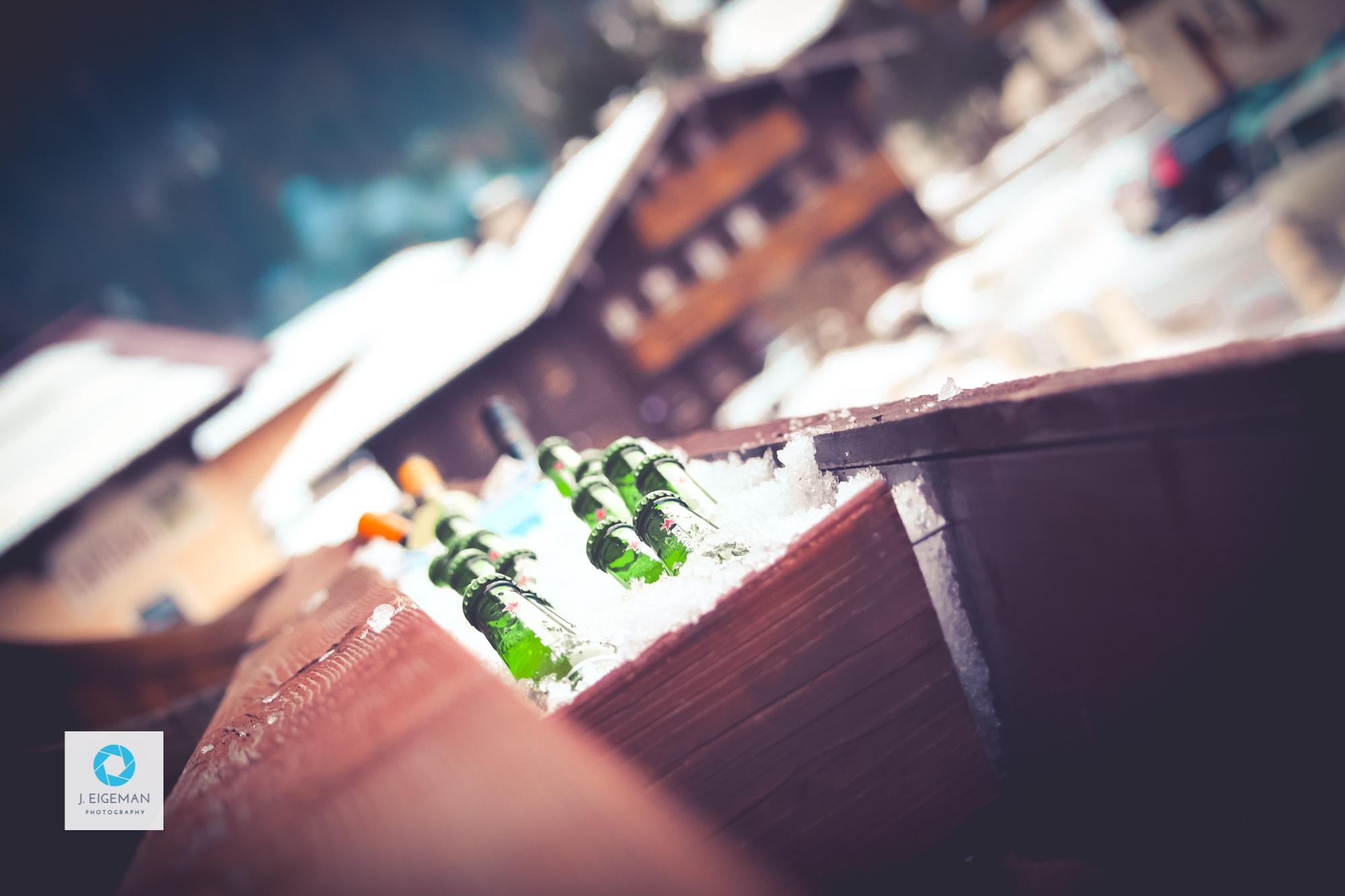 Heineken in ijs - Fotografie door Jeoffrey Eigeman