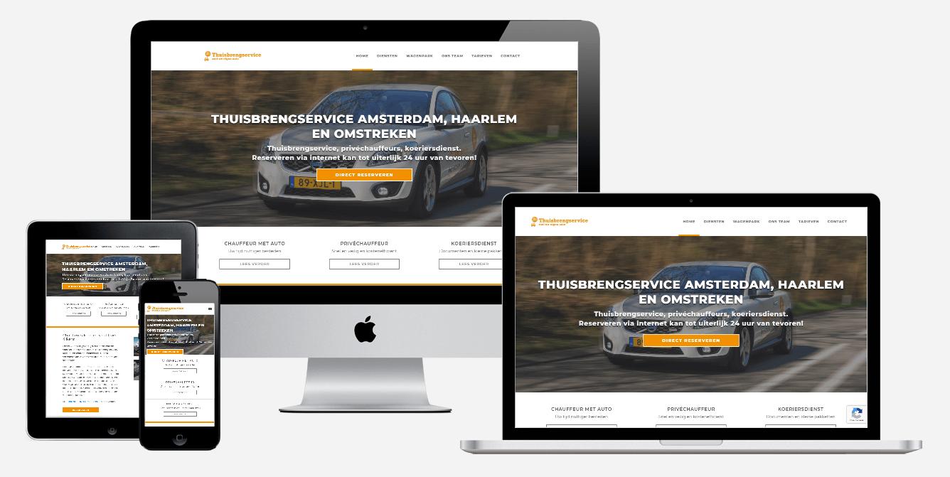 Website laten maken - Driver 4 Rent